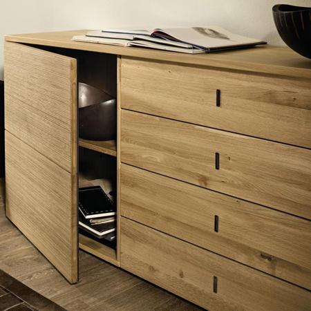 hlsta now time sideboard elegant hulsta now vitrine. Black Bedroom Furniture Sets. Home Design Ideas