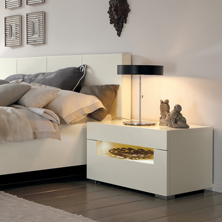 elumo ii bedside table hulsta hulsta furniture in london. Black Bedroom Furniture Sets. Home Design Ideas