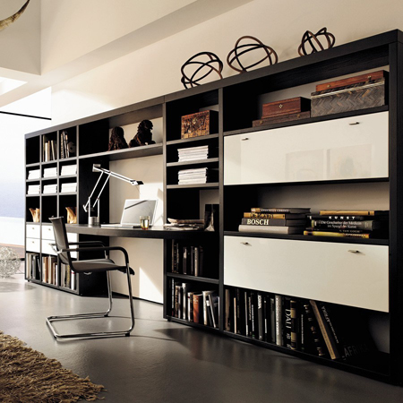 encado ii bookcase hulsta hulsta furniture in london. Black Bedroom Furniture Sets. Home Design Ideas