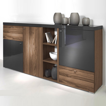 encado ii sideboard hulsta hulsta furniture in london. Black Bedroom Furniture Sets. Home Design Ideas