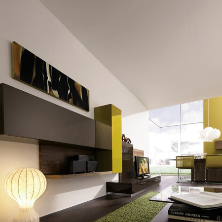 hulsta lilac tv unit, lilac wall unit – hulsta – hulsta furniture in london, Innenarchitektur