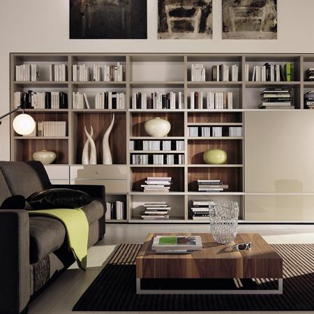 Mega design bookcase hulsta hulsta furniture in london - Hulsta regalwand ...