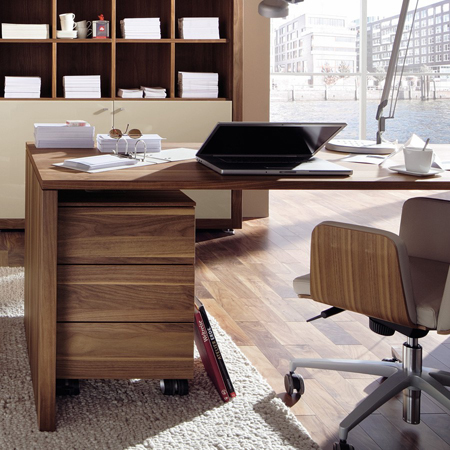 Xelo home office desk hulsta hulsta furniture in london for Home furniture london