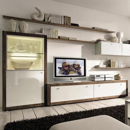 xelo tv wall unit hulsta hulsta furniture in london. Black Bedroom Furniture Sets. Home Design Ideas